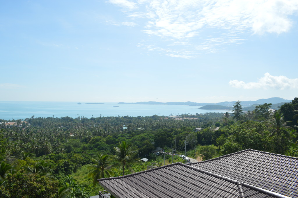 View from the pool at Mantra Samui resort