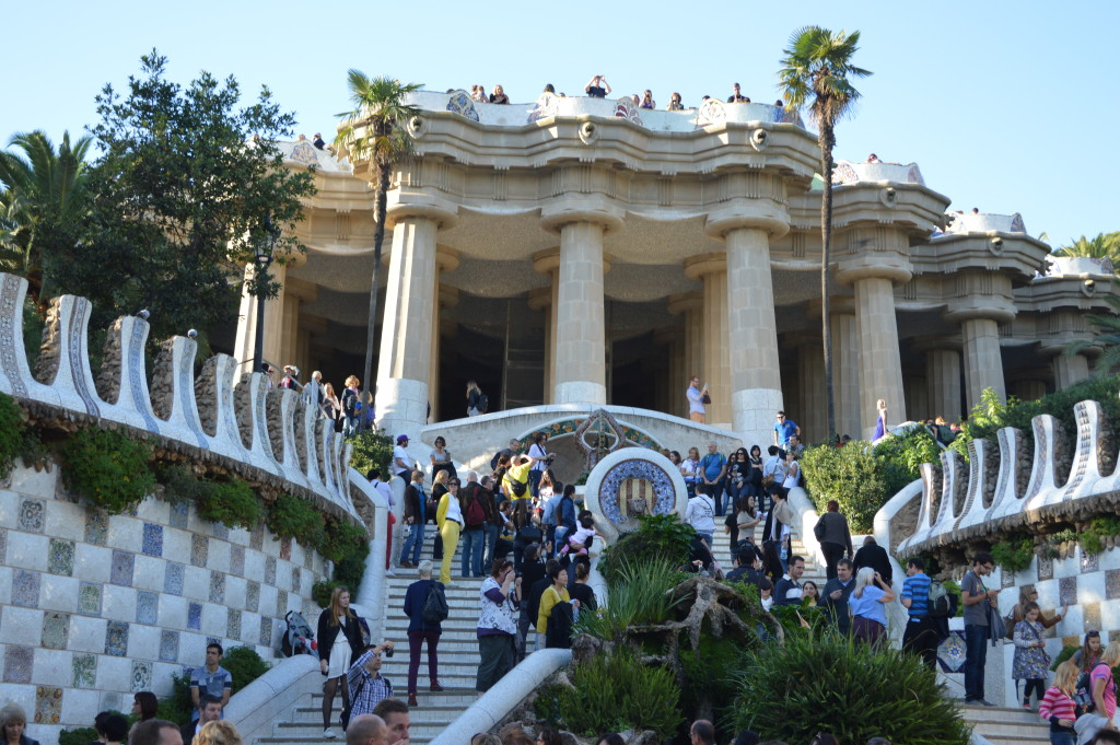 Park Guell Monumental zone entrance