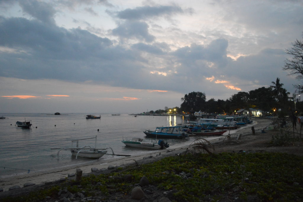 Harbour at Gili Air