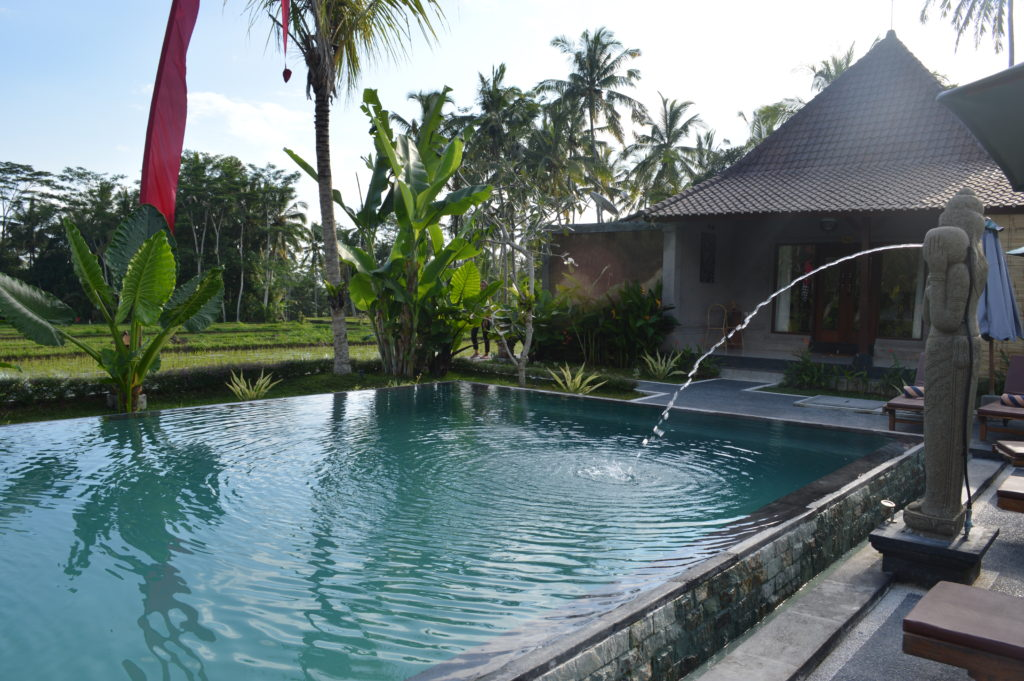Pajar house swimming pool