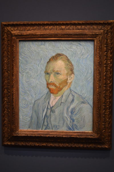 Van Gough self portrait