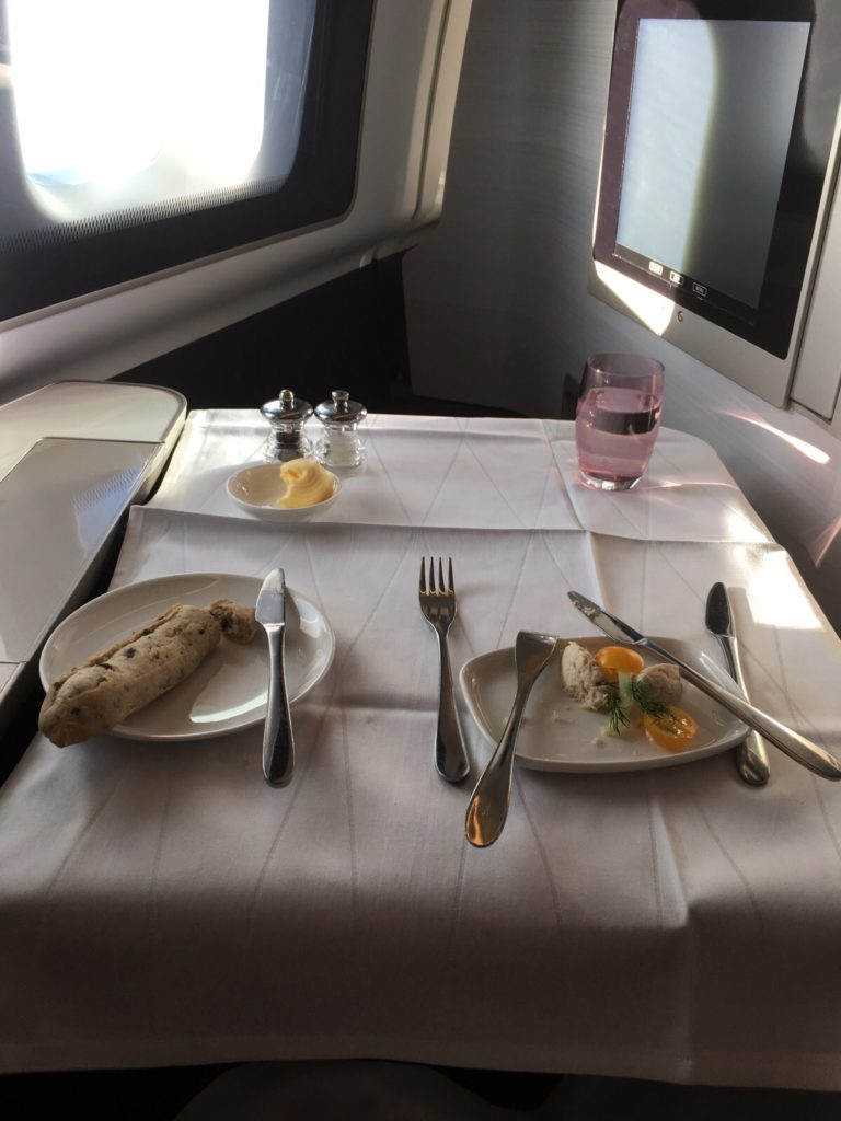 Lunch in First Class